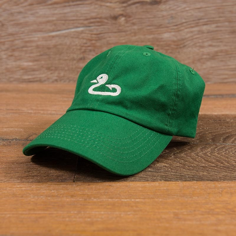 Gunner & Hook green hat logo1