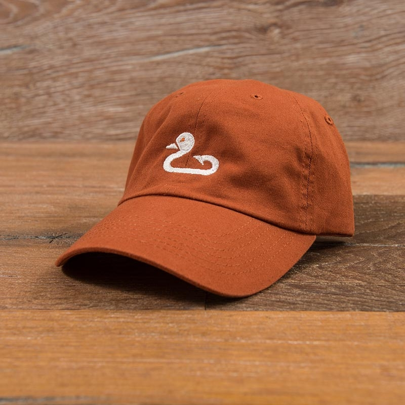 Gunner & Hook burnt orange hat