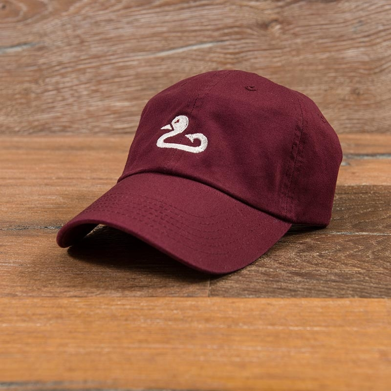 Gunner & Hook maroon hat