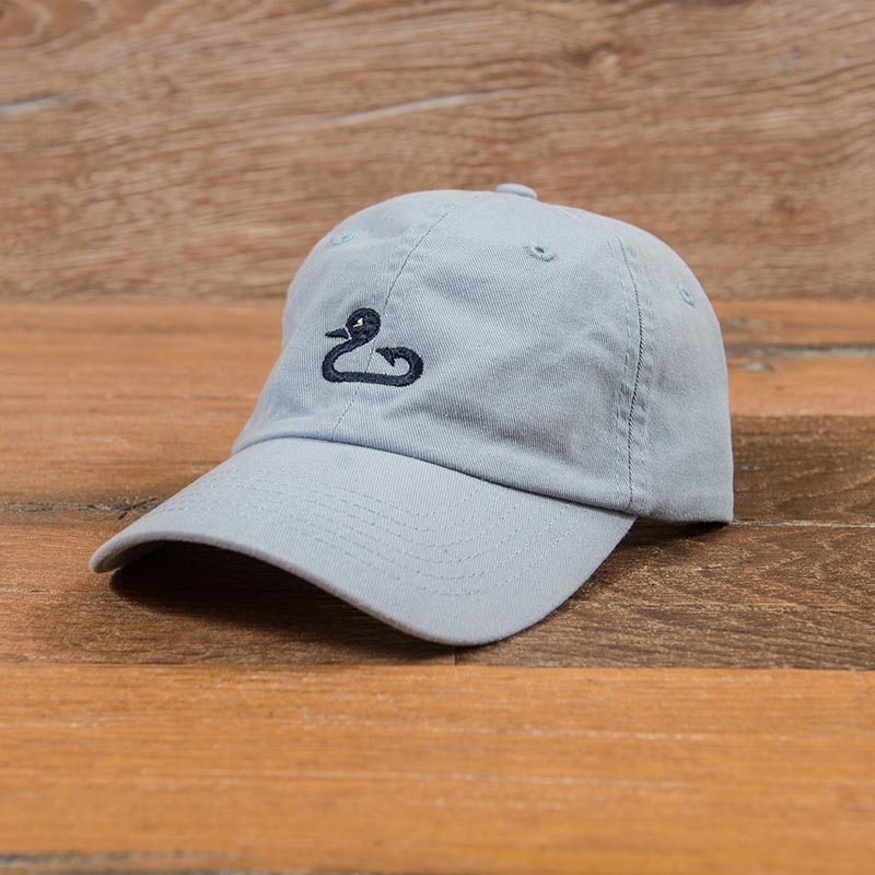 Gunner & Hook light blue hat