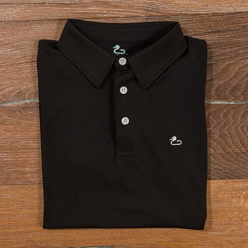 Gunner & Hook polo performance black
