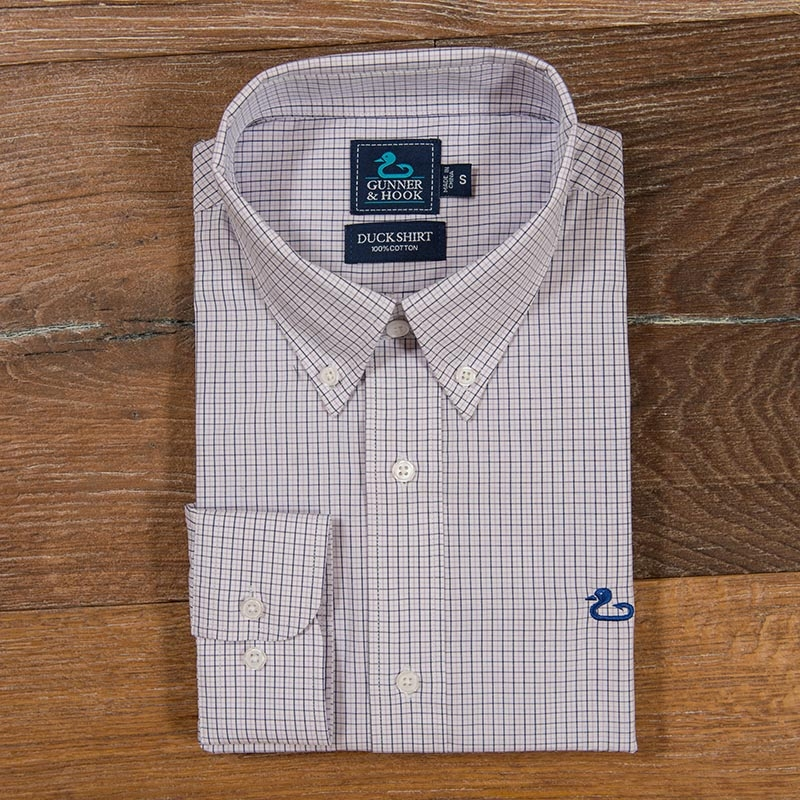 Gunner & Hook sport shirt bozeman purple