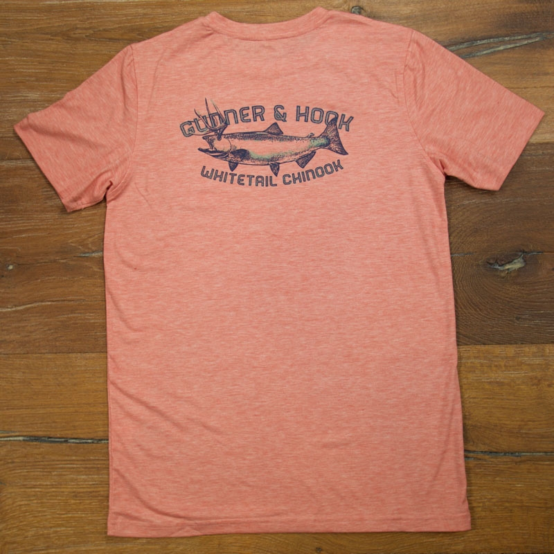 Gunner & Hook t-shirt cotton horny fish back