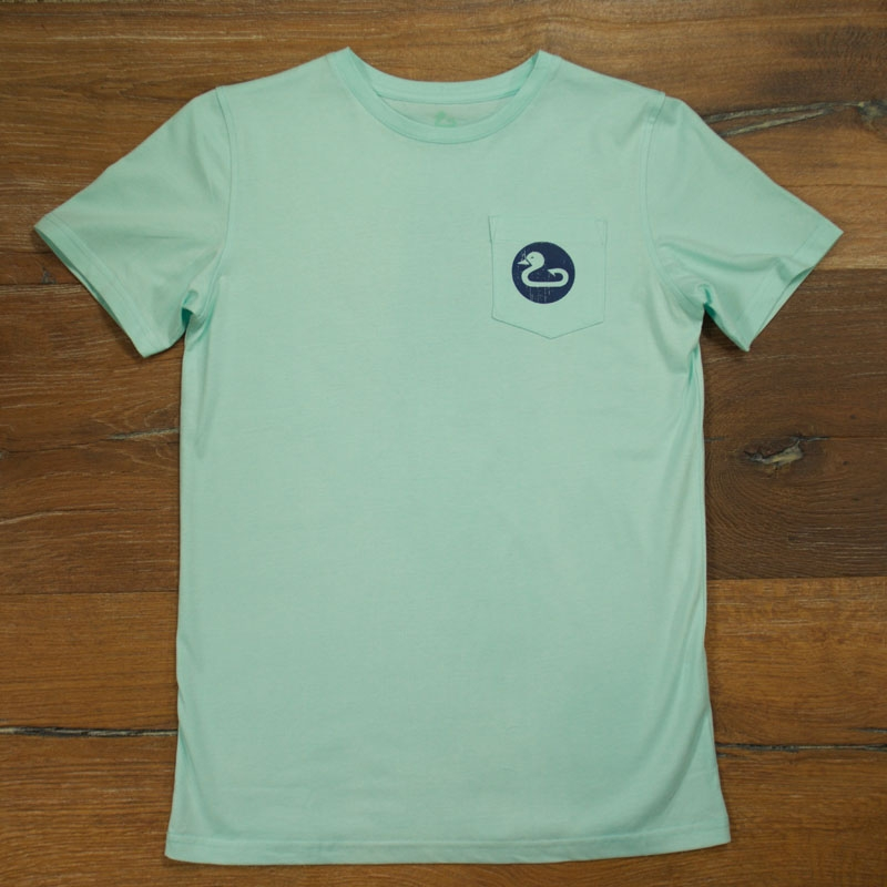 Gunner & Hook t-shirt cotton mint front